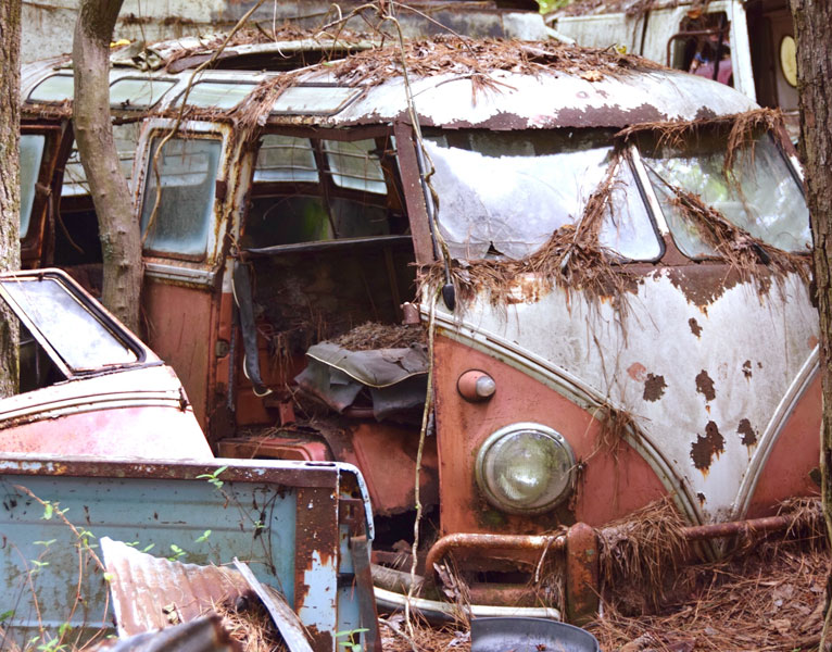 VW bus restoration
