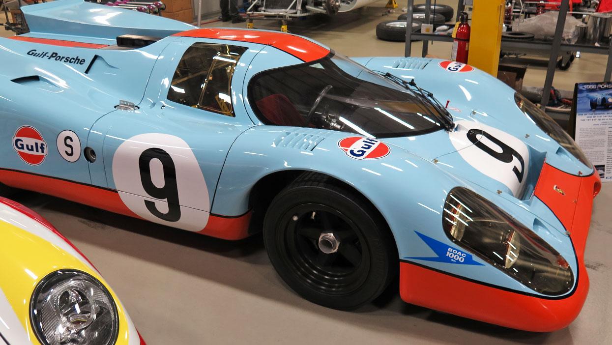 Derek Bell Porsche 917