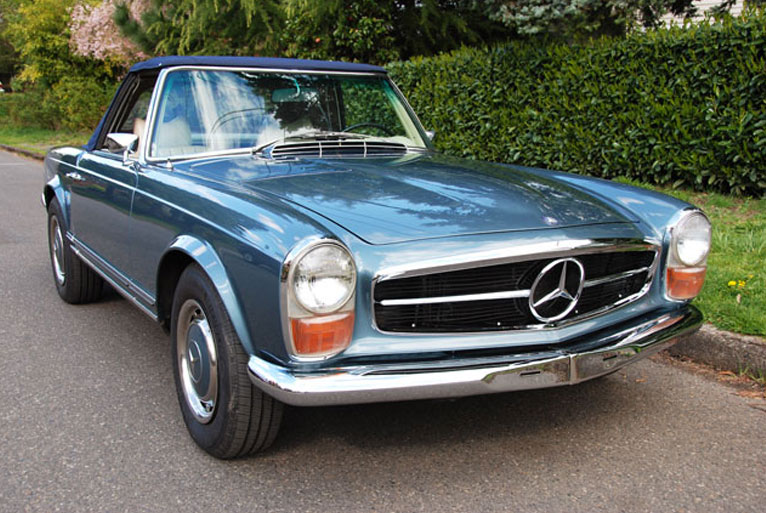 3 keys to a successful w113 mercedes benz 280sl restoration for Mercedes benz 280sl parts