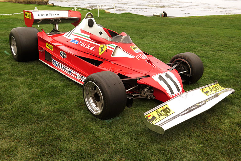 Niki Lauda 1997 Ferrari 312t2