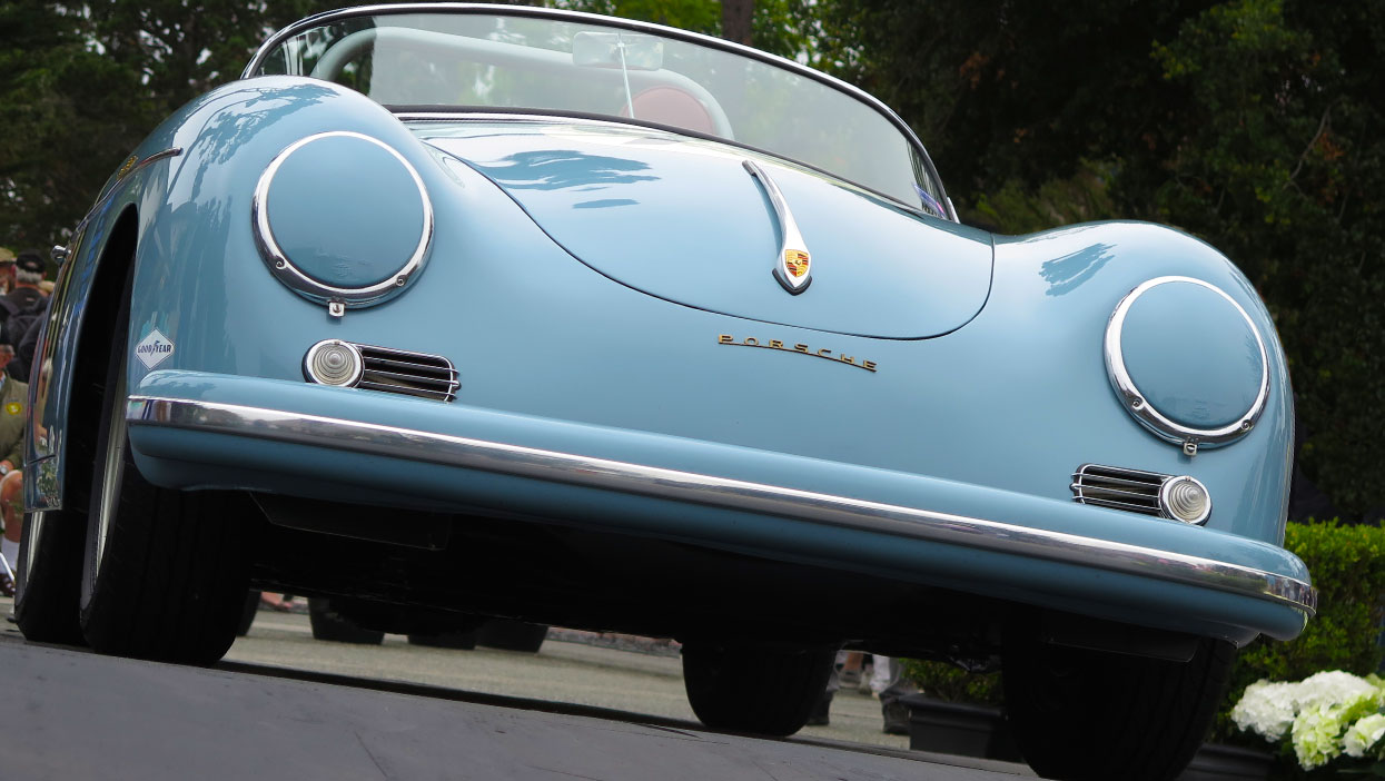 good car photograph Porsche 356