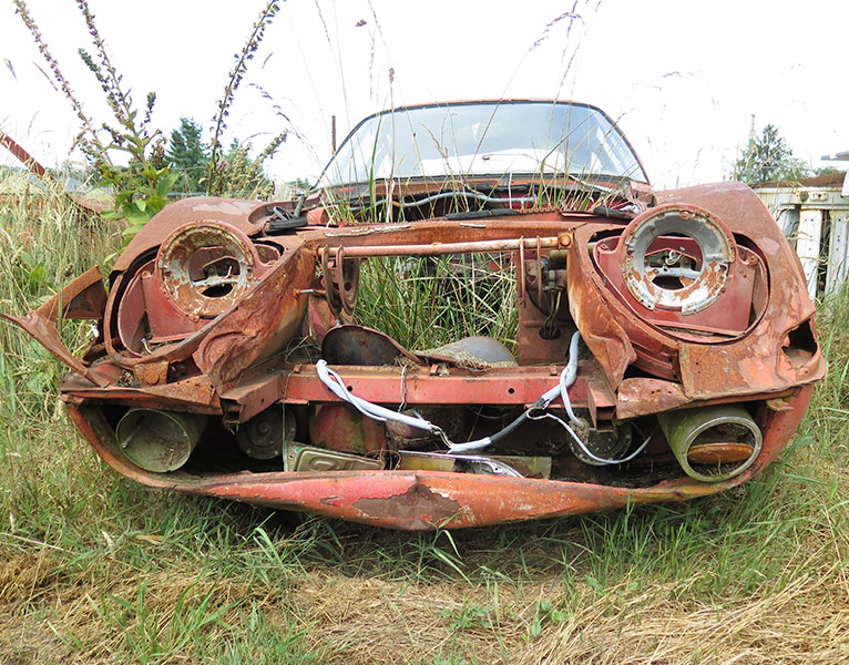 Opel car restoration