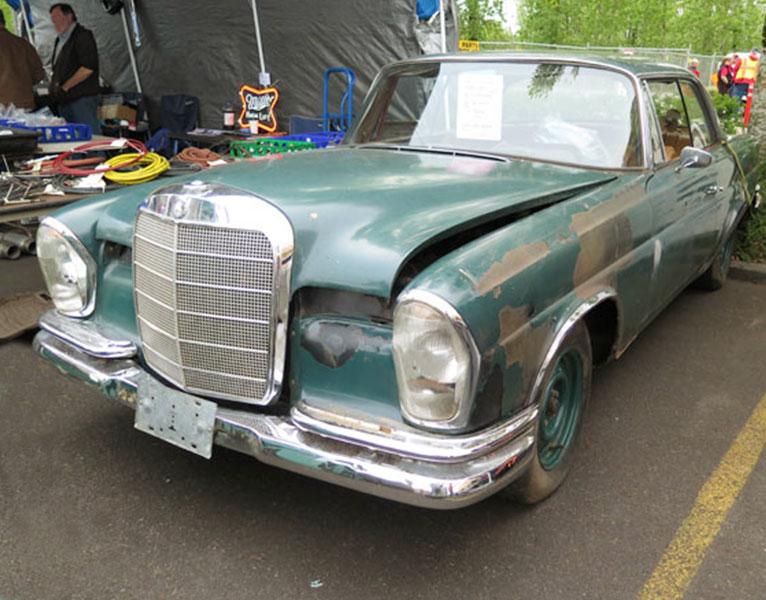 Mercedes Restoration