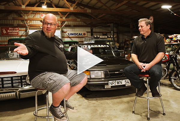 Denwerks Vintage Car Shop Interview with Jason Anderson