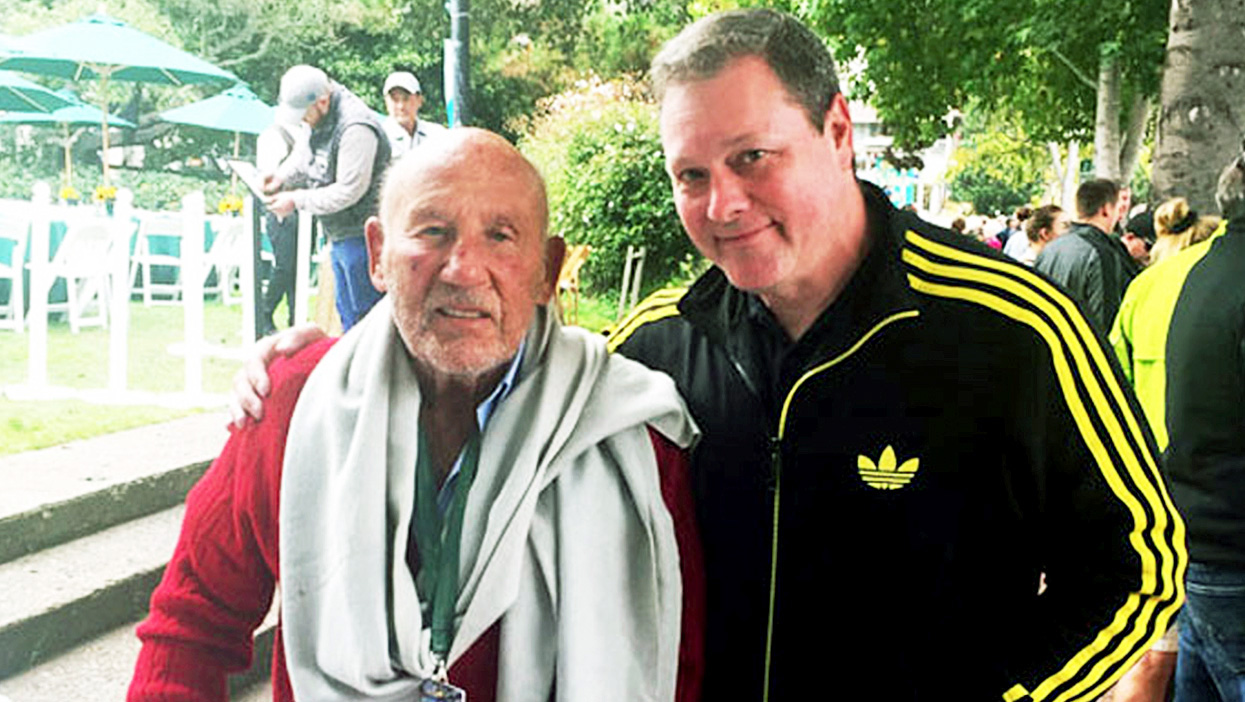 Stirling Moss Mike Spicer